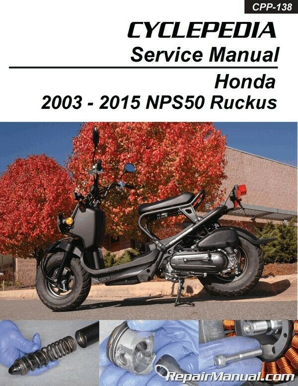 s l1000 honda ruckus manual ebay 2013 Honda Accord Ignition System Schematic at nearapp.co