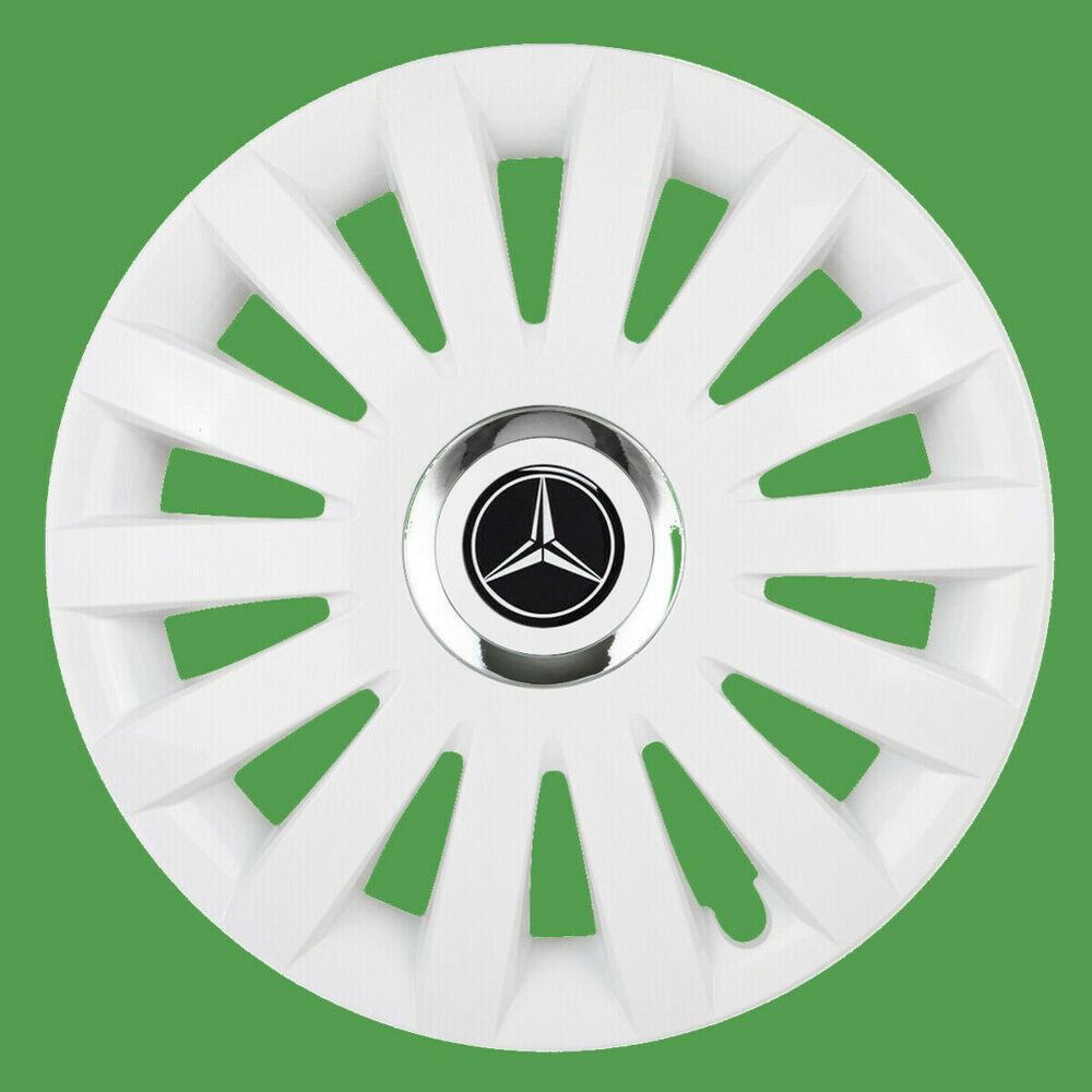 16 wheel trims for mercedes vito sprinter 4 x16 black for Mercedes benz sprinter wheel covers