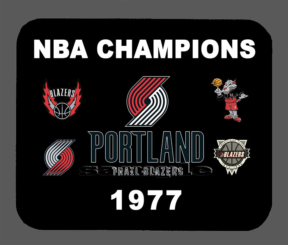 Item#708 Portland Trail Blazers Championship Banner Mouse