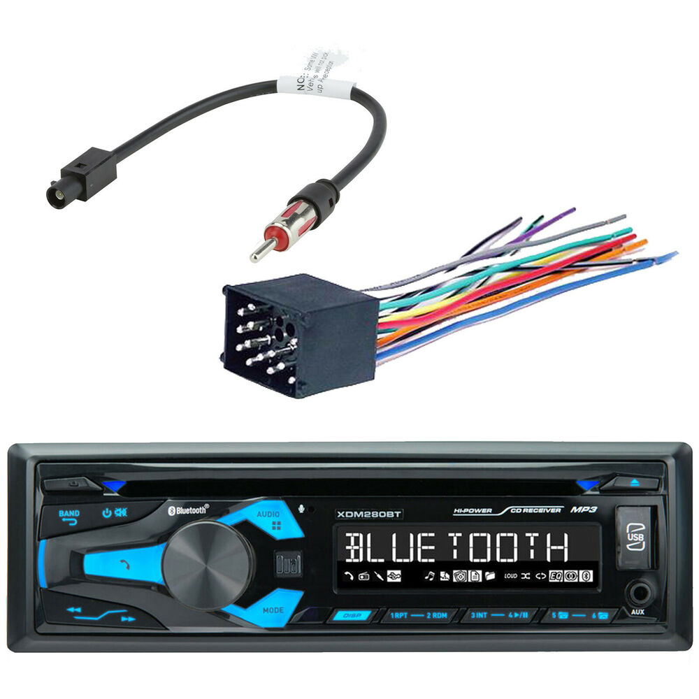 pioneer car stereo radio bluetooth cd player dash install mount harness antenna ebay