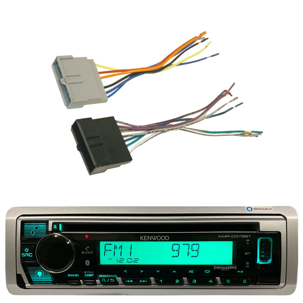 Car Installation Antenna Adapter And Wire Harnesskenwood Bluetooth 1999 Ford Contour Wiring Harness Cd Aux Radio 728120450375 Ebay