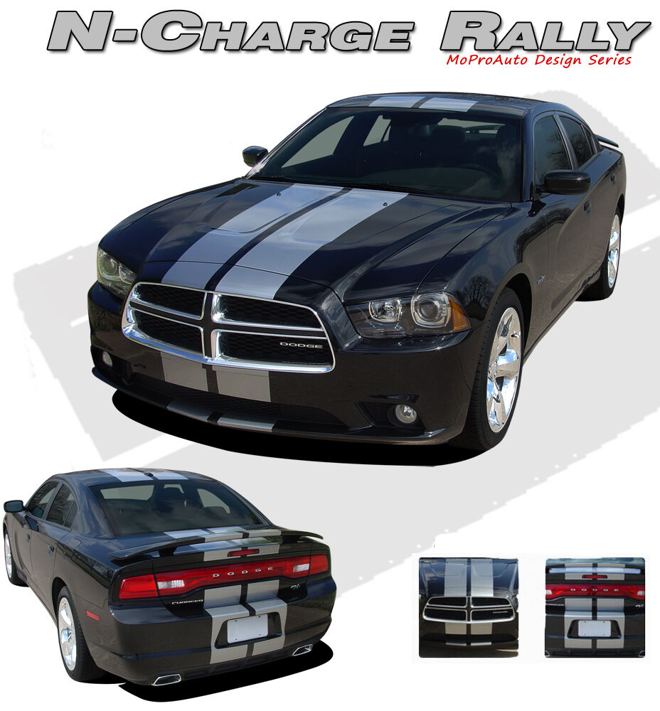 """Dodge Charger 2011-2014 Rally / Racing Stripes 10"""" 3M Pro ..."""