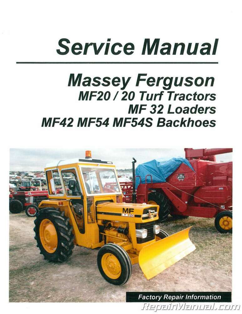 Massey Ferguson 32 Loader Parts : Massey ferguson mf tractor loader
