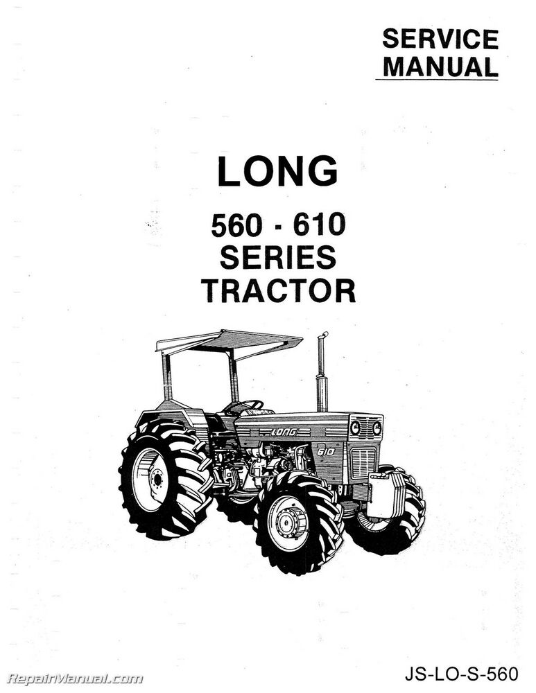 long 560 610 tractor service workshop repair manual ebay diesel tractor wiring diagram 610 long tractor wiring diagram #5