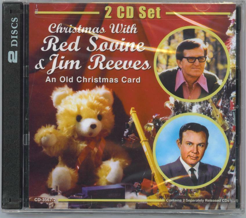RED SOVINE & JIM REEVES - CHRISTMAS WITH - AN OLD CHRISTMAS CARD ...