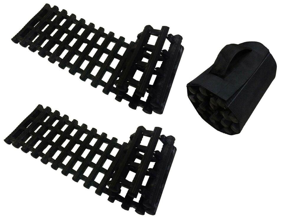 2 X Recovery Tracks 4 X 4 Tyre Grip Mats Snow Mud Ice Sand