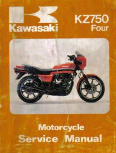s l1000 1980 1983 kawasaki kz750 motorcycle service manual ebay KZ750 Twin Ignition Switch Wiring at eliteediting.co