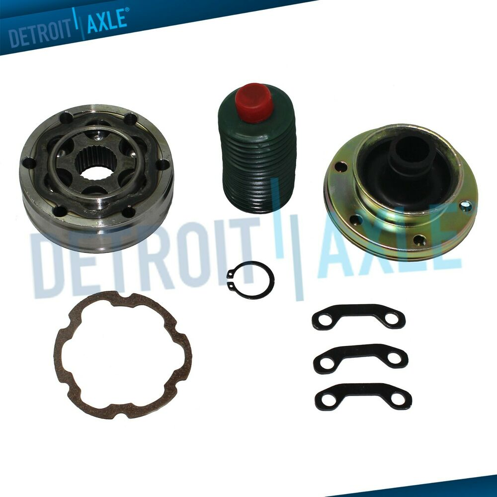 Brand New Front Driveshaft Replacement Cv Joint Kit Rear