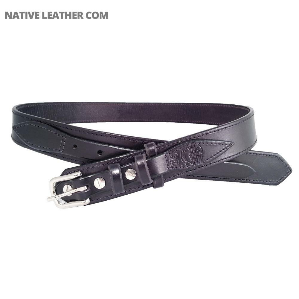 grain leather ranger belt 600r ebay