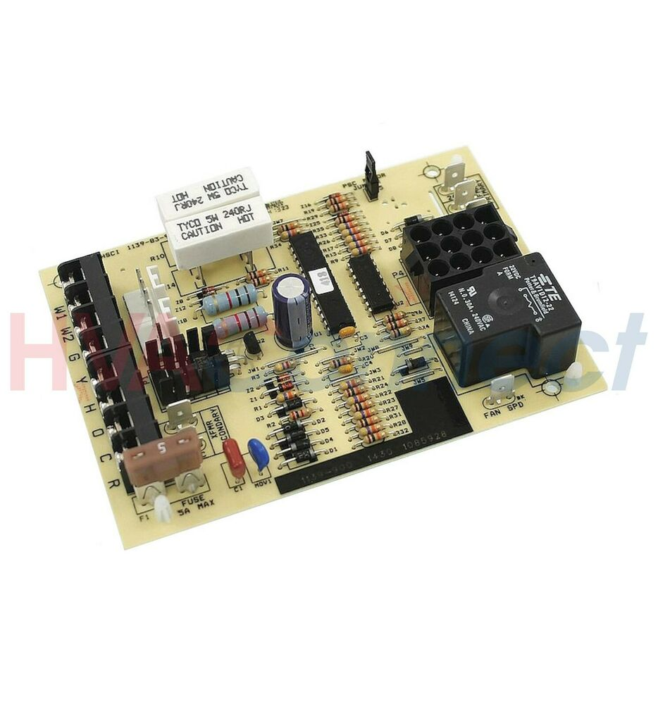 Fan Relay Circuit Board Free Wiring Diagram For You Of Polarity Switch Controlcircuit Oem Icp Texas Instruments Furnace Control Ta 68089