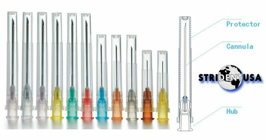 25 gauge needle steroid injection