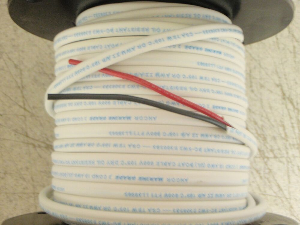 Wire Tinned Copper Duplex Cable 18 2 100ft 639 121910 Red