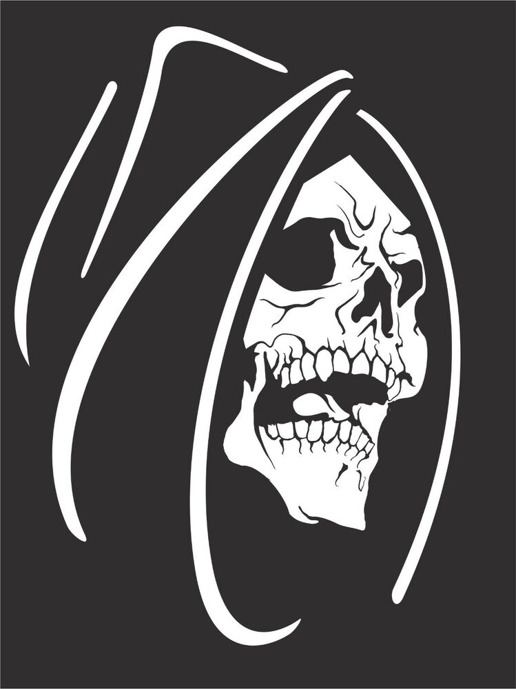 Reaper Truck For Sale >> Grim Reaper Skull Monster Creature Car Truck Window Laptop Vinyl Decal Sticker | eBay