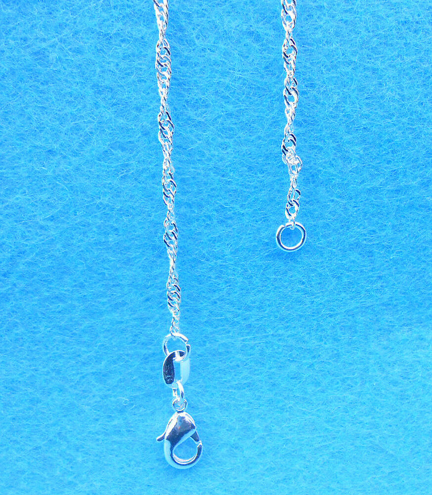 wholesale 1pcs jewelry 925 sterling silver plated quot water