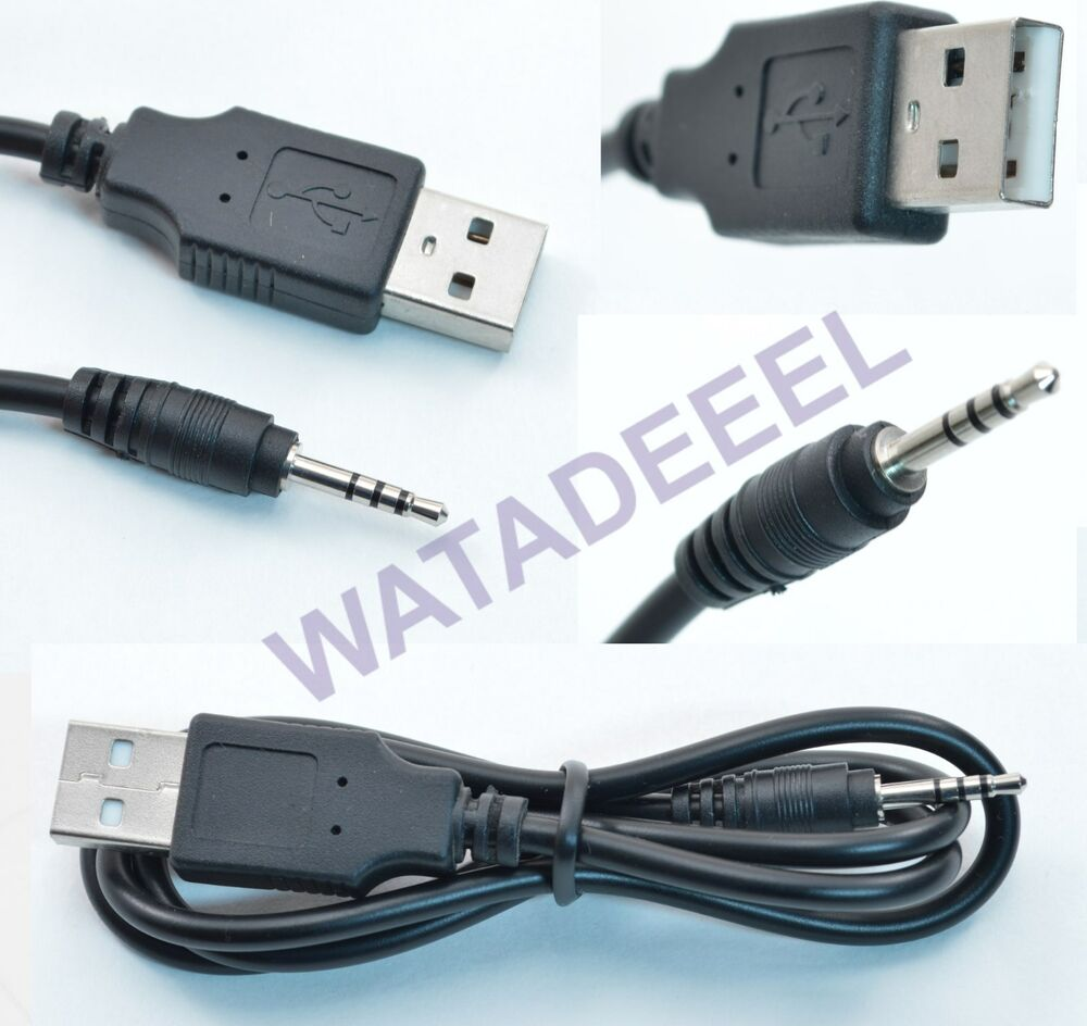 Spy watch interface cable cord usb 2 0 jack plug for Precio cable 2 5mm