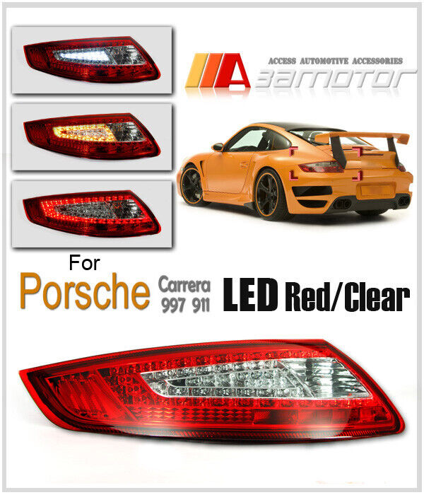 Porsche Carrera 911 997 4s Gt2 Gt3 Gt3 Rs Targa 4 Led Tail