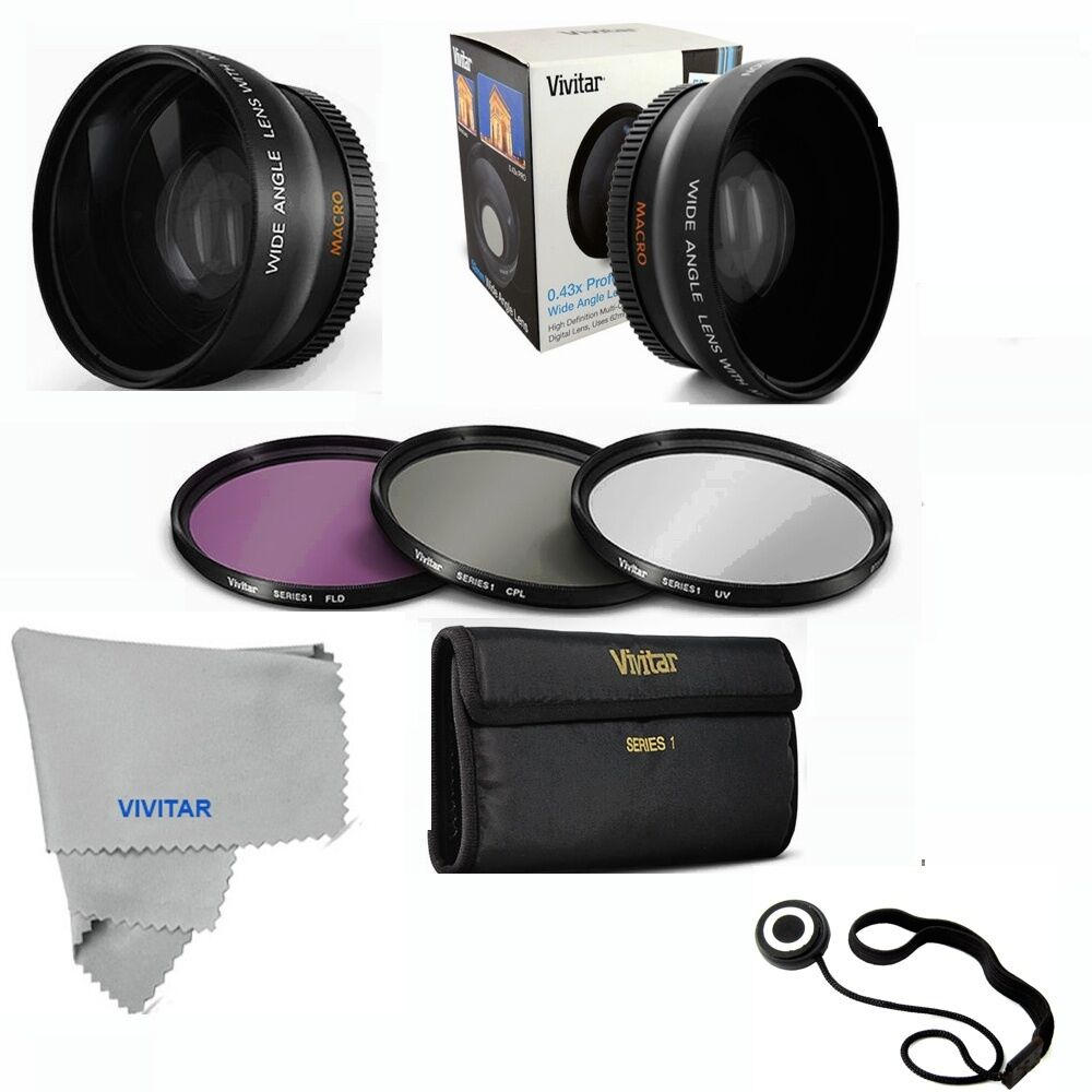 52mm wide angle lens macro uv cpl fld filter kit for. Black Bedroom Furniture Sets. Home Design Ideas
