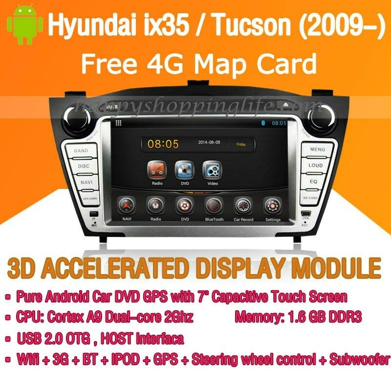 android car dvd radio gps navigation wifi 3g for hyundai. Black Bedroom Furniture Sets. Home Design Ideas
