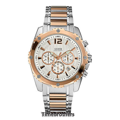 NEW GUESS WATCH for Men * Chronograph * Rose Gold Top Ring ...