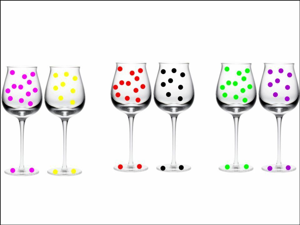 new huge wine glass decorating kit starter pack stickers