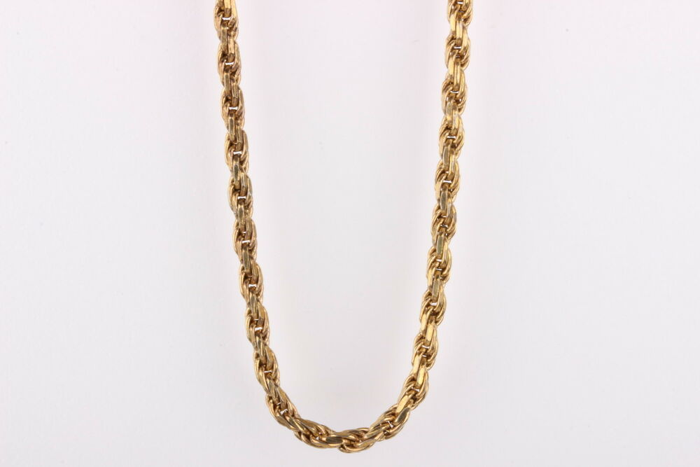 Italy Hct 925 Gold Over Sterling Vintage Necklace 1918 Ebay