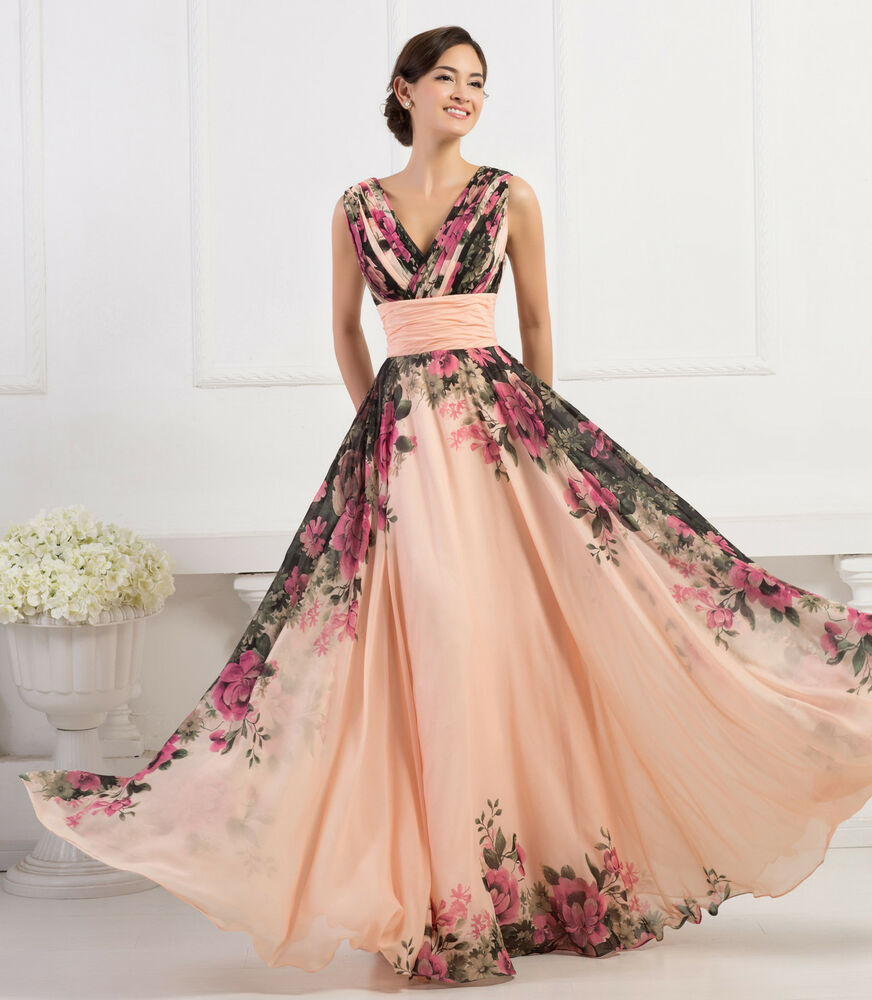 2015 vintage 50 60s long formal evening ball gown party prom pinup tea