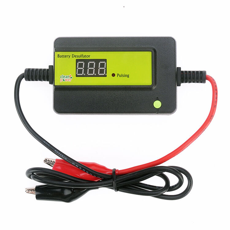 golf car battery desulfator desulphator 12v to 48v batteries auto pulse ebay. Black Bedroom Furniture Sets. Home Design Ideas