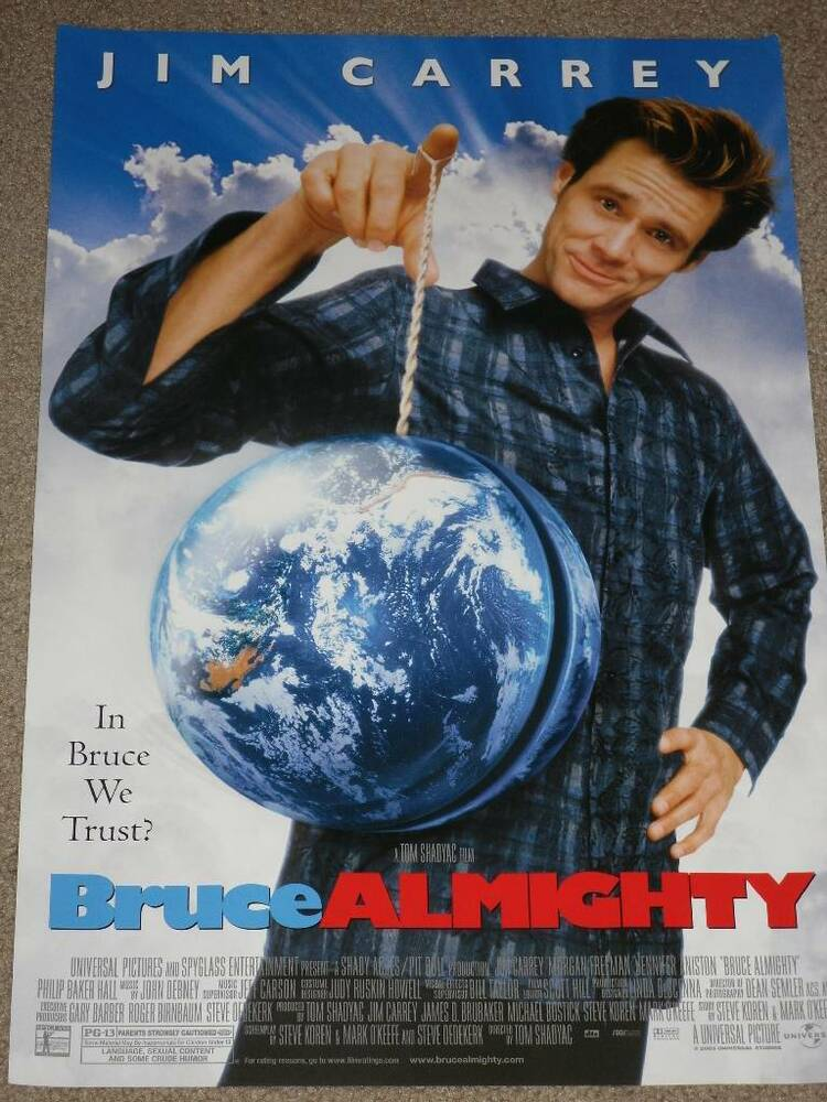 essays bruce almighty symbolism Bruce almighty mr shea bruce almighty bruce almighty watching bruce almighty, starring jim carrey, we were shown several scenes in these scenes examples of hopelessness, individualism, enlightened self- interest, compassion, hope, love, free will, relationships, sin, and images of god were seen throughout them.
