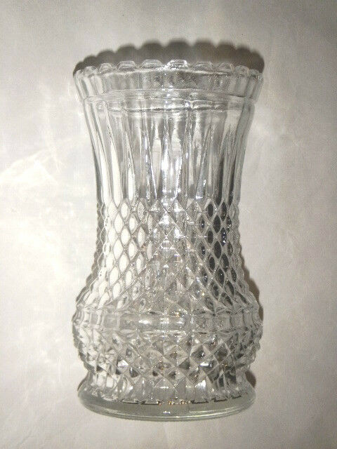 Lamplight Farms 6 75 Quot Cut Glass Clear Vase Made Austria