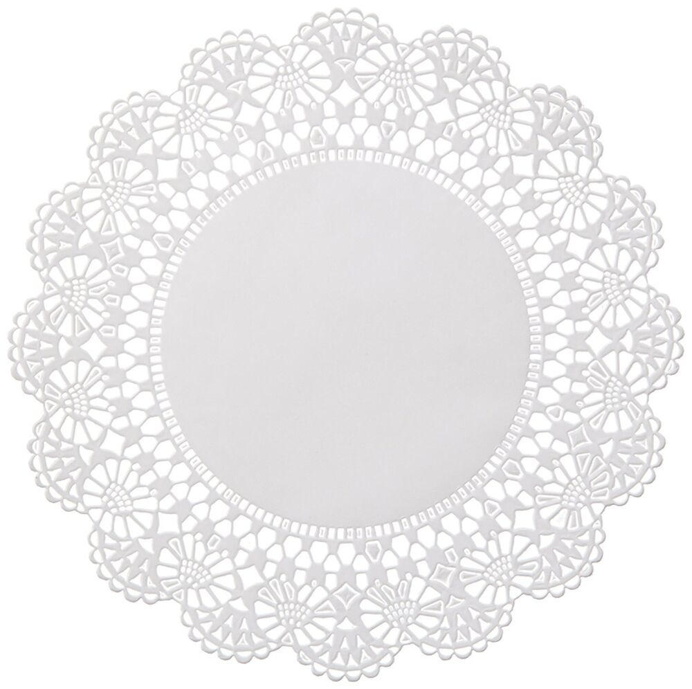 Doily Paper Cake Box Liner : Shape : Rectangle – Size : 15″ x 15″ Inches