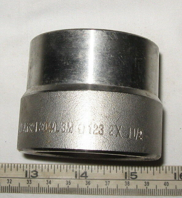 High pressure stainless steel quot socket weld
