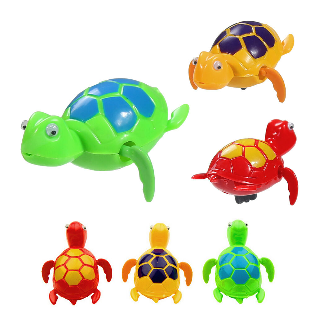 Turtle Toys For Turtles : New wind up swimming turtle turtles pool animal toys for