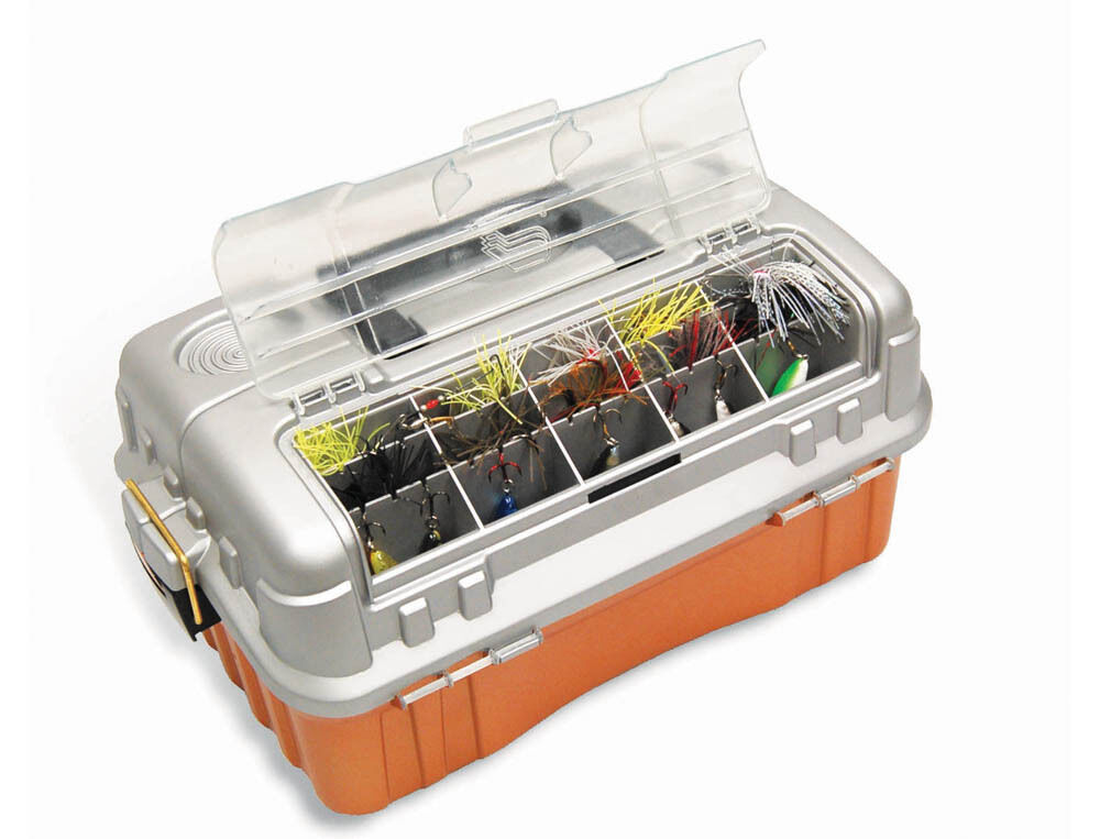 Plano flipsider 3 tray 7603 tackle box ebay for Best fishing tackle box