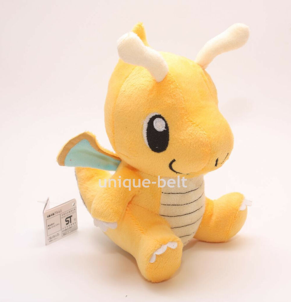 New Soft Toys : New pokemon cute dragonite figure toy soft stuffed animal