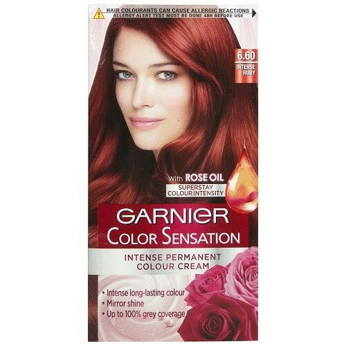 Garnier Color Sensation 6 60 Intense Ruby Colour Cream