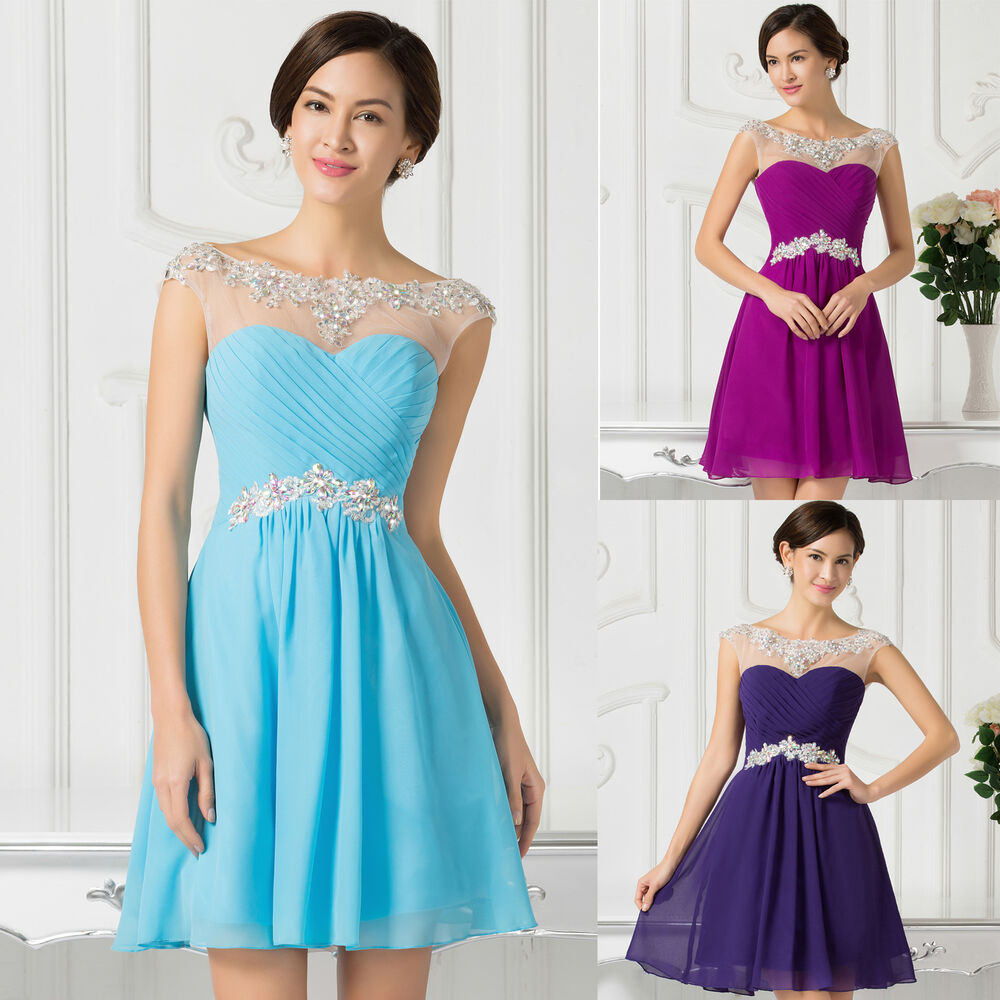 Short Prom Dress Evening Masquerade Ball Gowns Cocktail