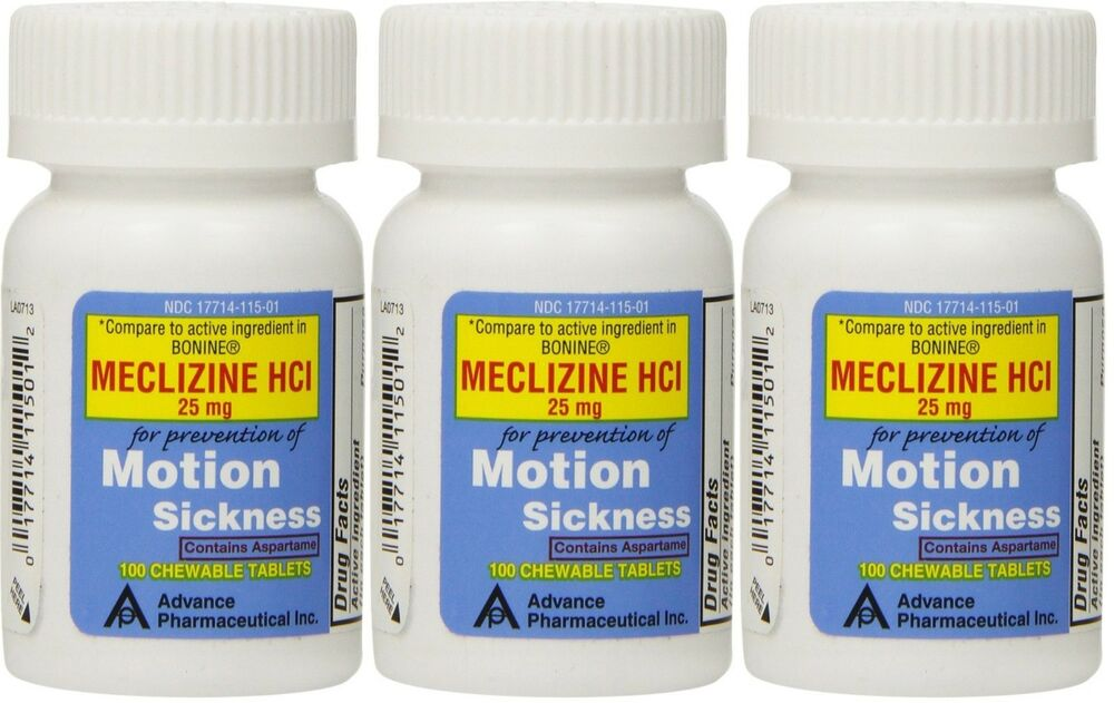 Antivert Meclizine Over The Counter