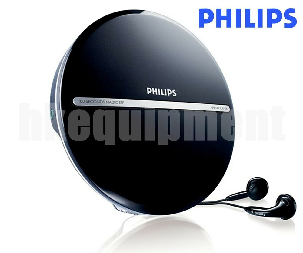 philips exp2546 lcd display portable mp3 cd player discman. Black Bedroom Furniture Sets. Home Design Ideas