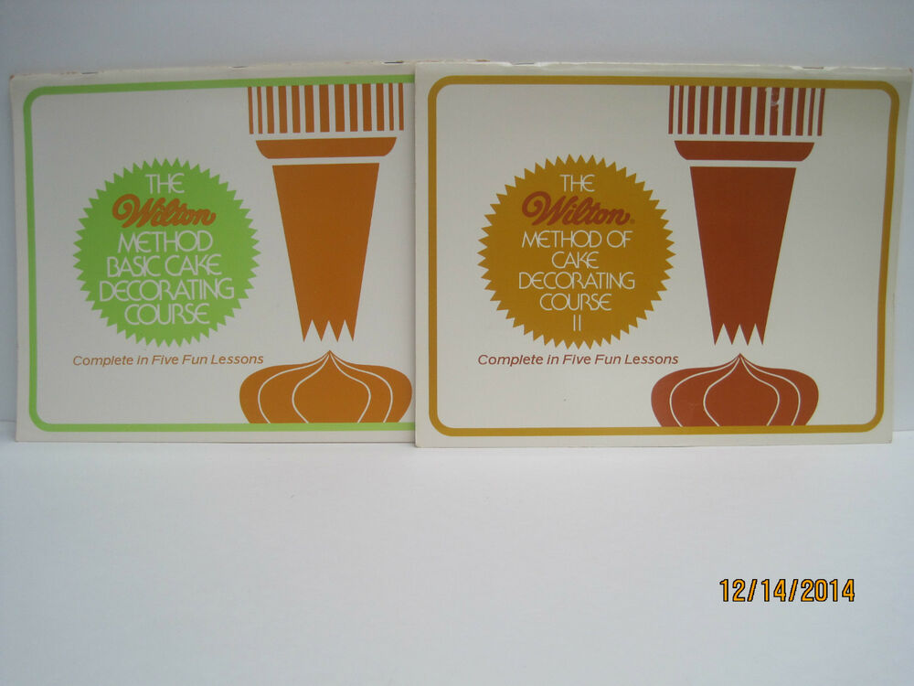 Wilton Method Of Cake Decorating Kit : The Wilton Method of Cake Decorating Course eBay