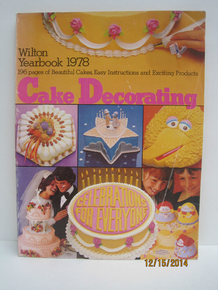 Wilton Cake Decorating Yearbooks, Lot Of 5 Books Ebay