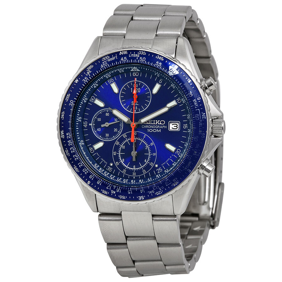 Seiko chronograph mens watch snd255 722630821632 ebay for Watches on ebay