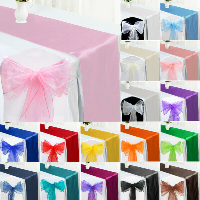 how to make chair sashes with satin