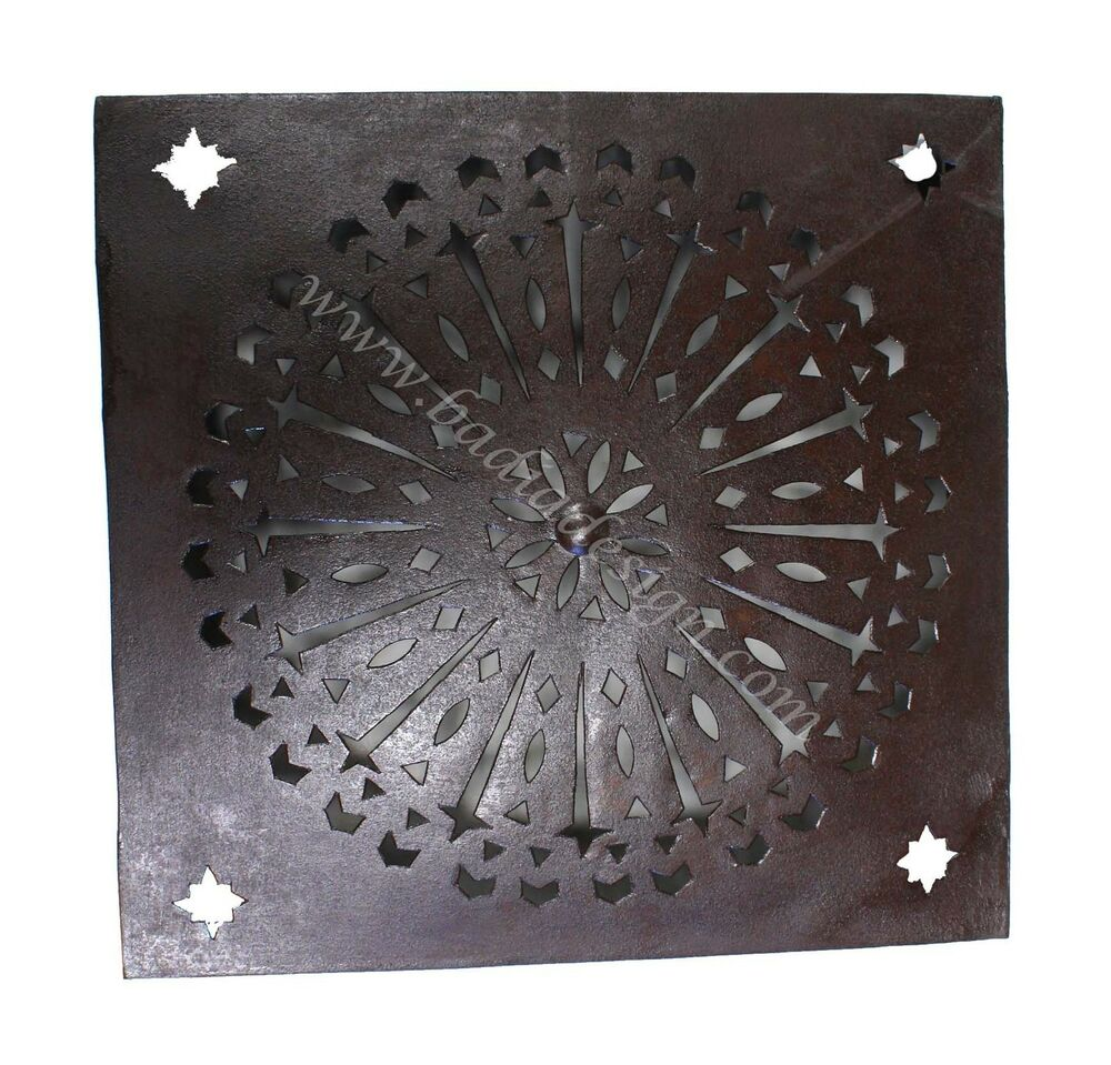 Moroccan Rustic Iron Wall Sconce - WL094-LARGE eBay