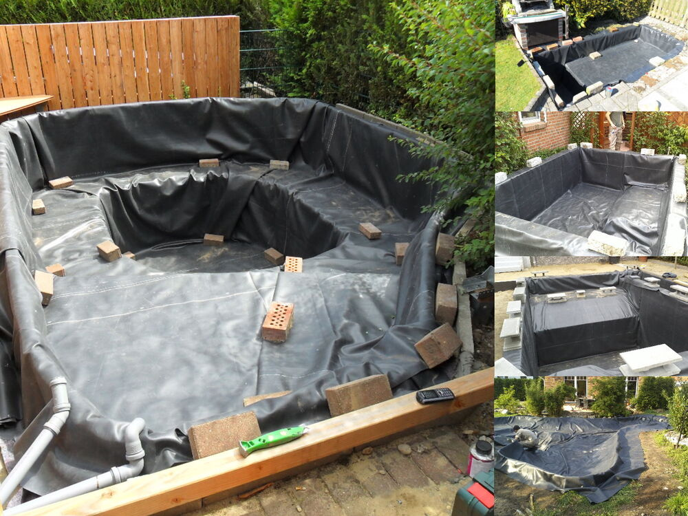 epdm teichfolie 1 1 mm kautschuk folie gartenteichfolie ohne teichvlies ebay. Black Bedroom Furniture Sets. Home Design Ideas