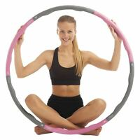 just be... ® Weighted Fitness Padded Exercise Abs Hula Hoop 1.2kg 1.5kg 2.1kg