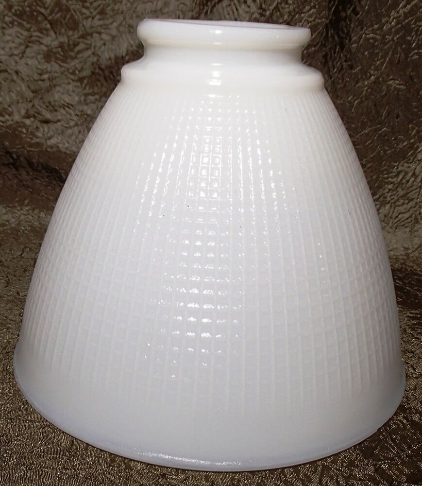White opal milk glass 6quot floor table oil lamp ies for 8 inch glass floor lamp reflector shade glass
