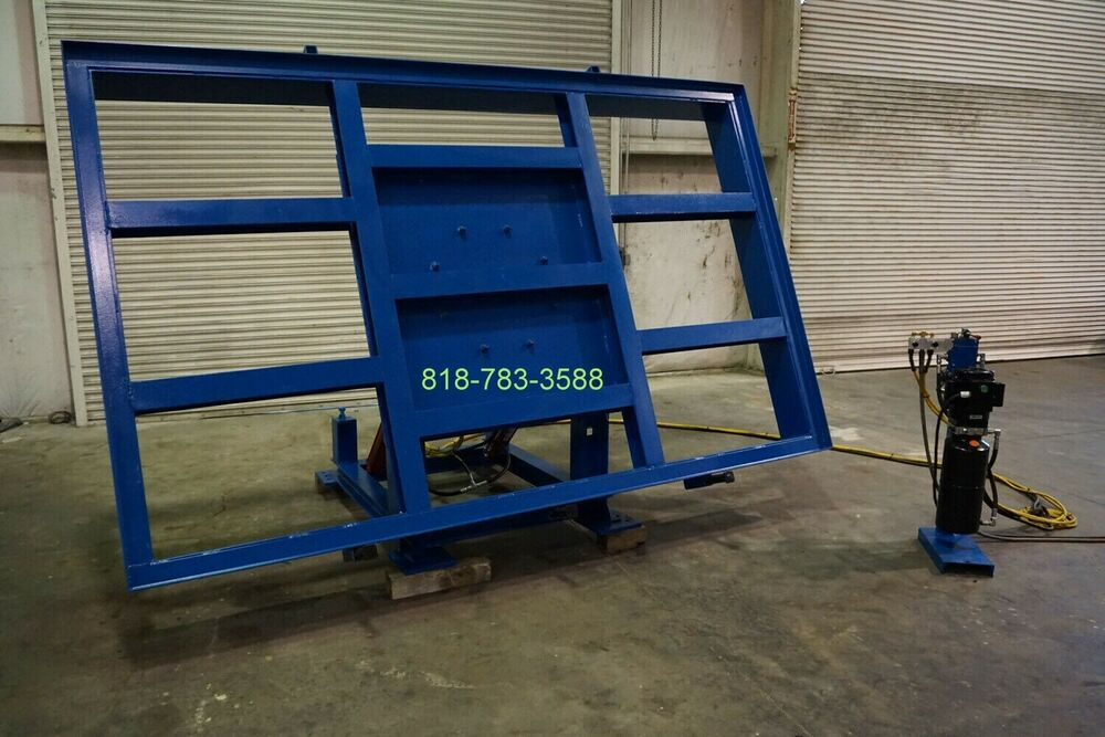 New Powered Hydraulic Table System For Bridge Saw Made In