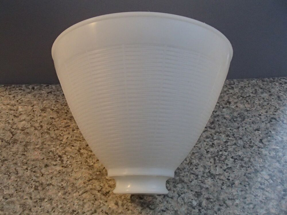 White Opal Plastic 8 Quot Floor Table Oil Lamp Ies Reflector