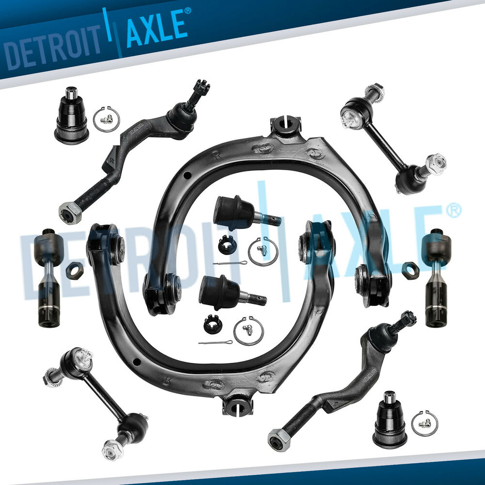 NEW 12pc Front Suspension Kit for Chevy Trailblazer EXT ...