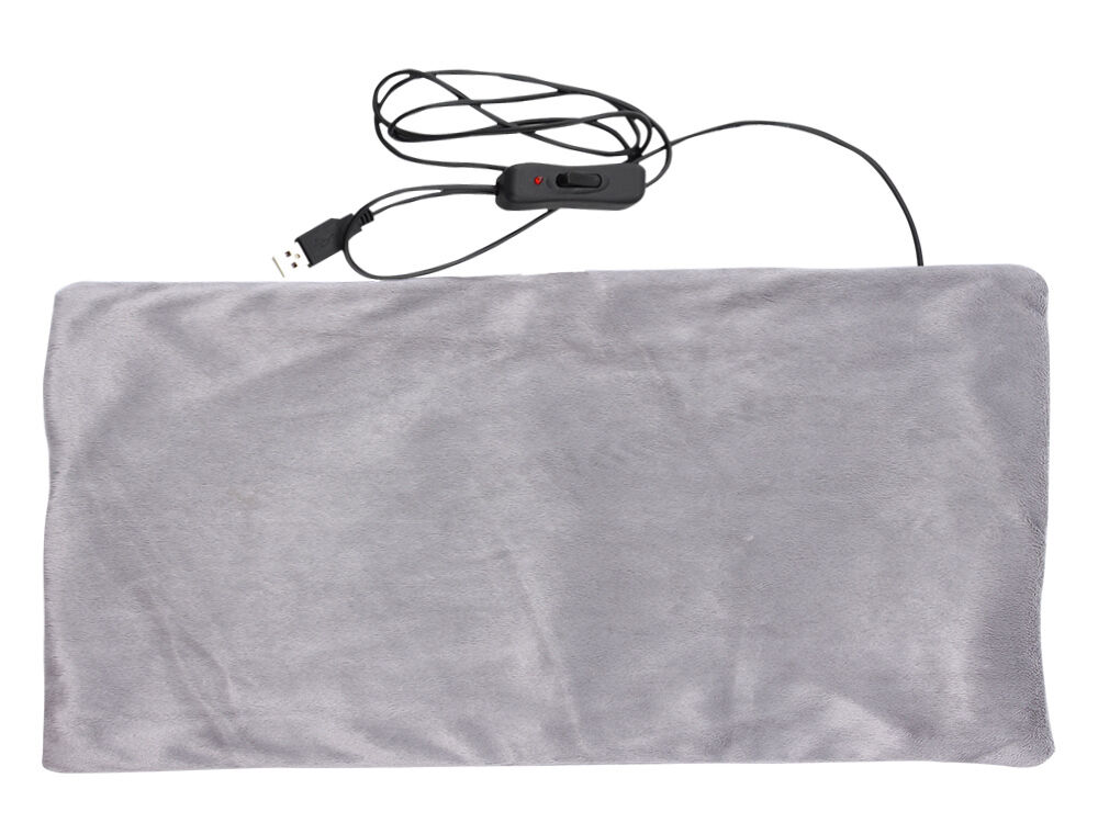 Far Infrared Carbon Fiber Bed Heated Pad Blanket Ac Usb